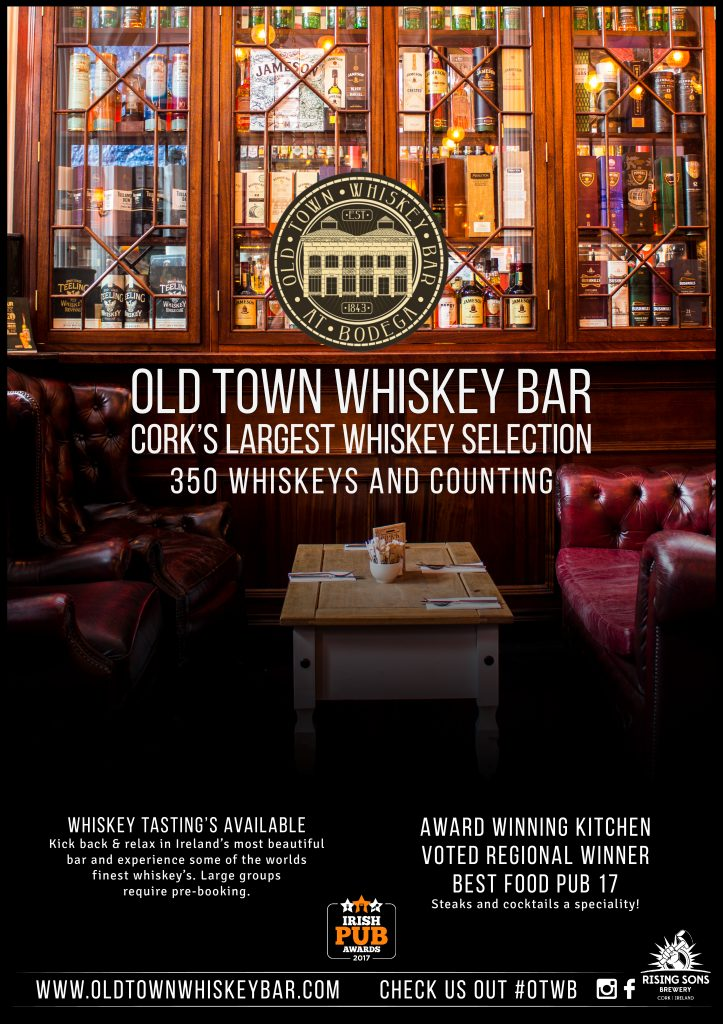 Guided Whiskey tastings - available 7 days a week